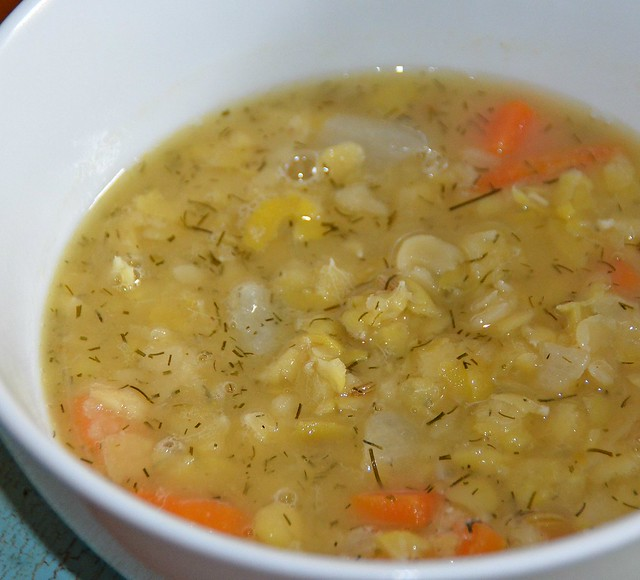 Yellow Split Pea Soup - Easy Recipe, Filling And Flavoursome