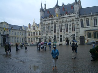 Town Hall Burg Square Brugge