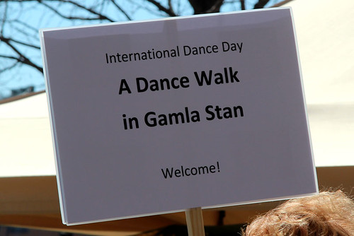 A Dance Walk in Gamla stan