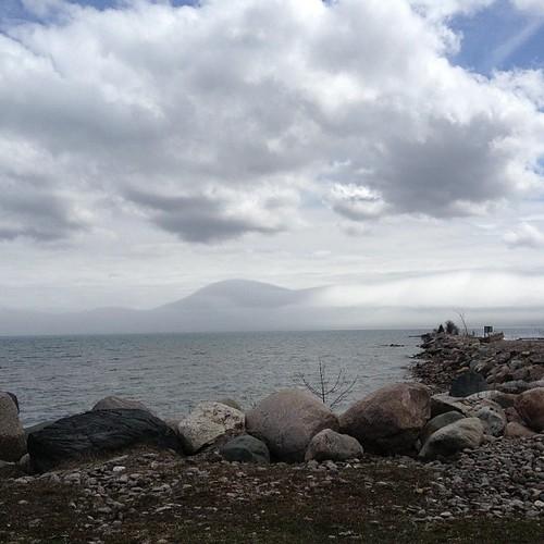 fog marina square squareformat wikwemikong iphoneography instagramapp uploaded:by=instagram foursquare:venue=516aacf1e4b0c06094738c22
