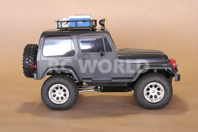 tamiya radio control rc jeep wrangler 4x4 black flickr photo sharing. Black Bedroom Furniture Sets. Home Design Ideas