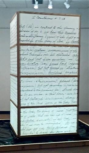 Samuel's ladder, Alan Dyson, 2013 by trudeau