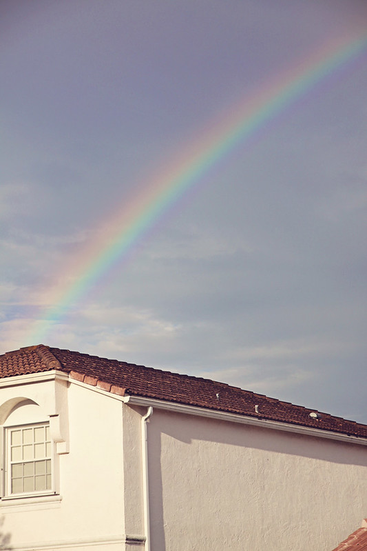 sunshower rainbow 2