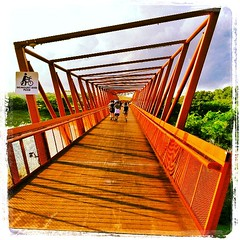 Orange bridge
