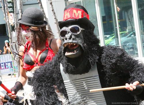 Gorilla Musician