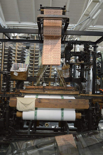 Jacquard weaving