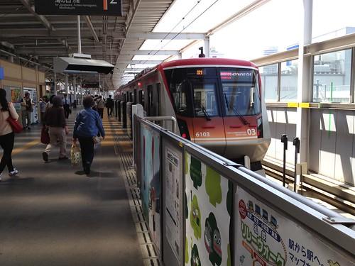 大井町線 by haruhiko_iyota