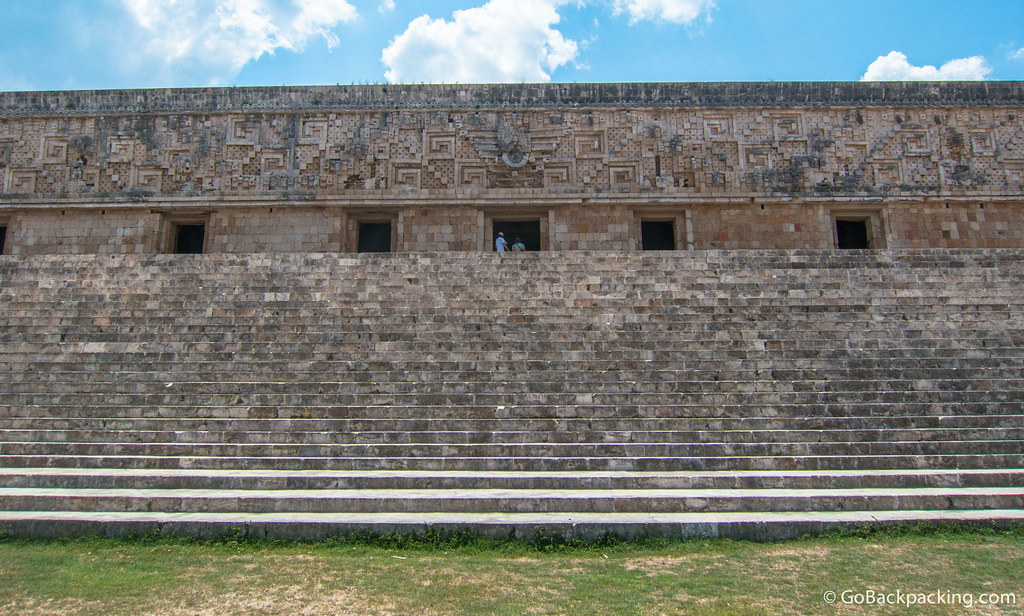 The Governor's Palace has one of the longest facades in Pre-Colombian Mesoamerica