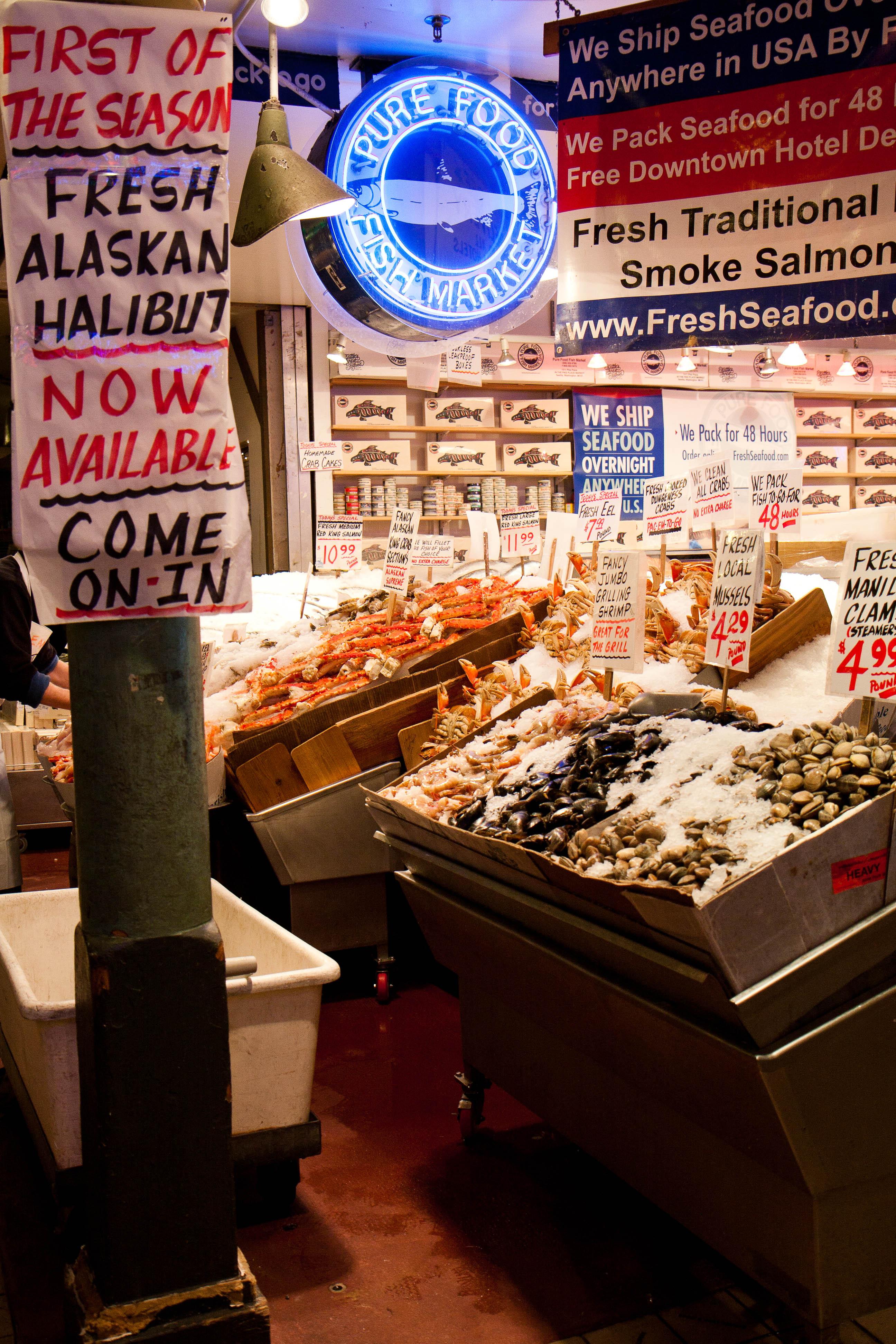 Pure food fish market 1 explore alanosaur 39 s photos on for Pure food fish market
