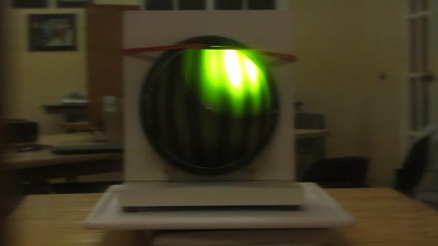 MVI_9993 ronchi test JoeD 6in astro tech mirror 14s