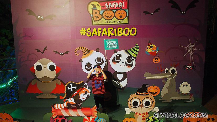 Safari Boo - not scary halloween event for kids