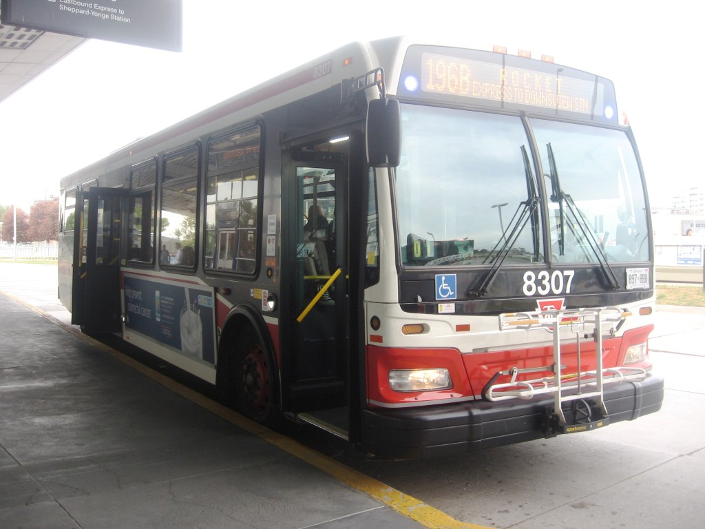 TTC 2011 Orion VII #8307