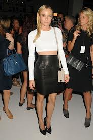 Diane Kruger Monochrome Trend Celebrity Style Women's Fashion