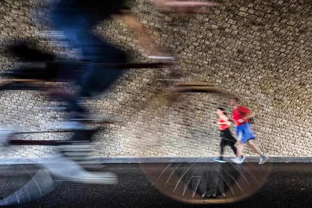 Sport sur les quais de Seine