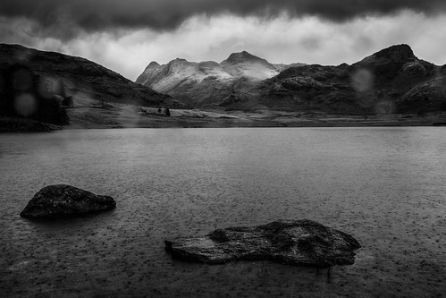 Rain Shadow (Blea Tarn Rain Clouds), Lake District by flatworldsedge