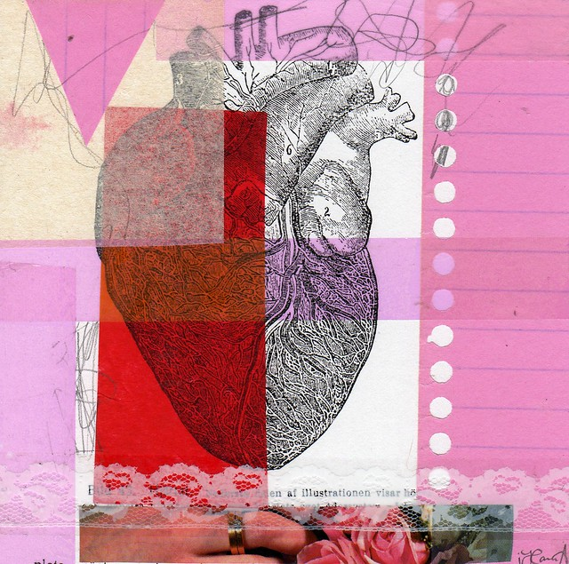 Collage: Illustration of Love
