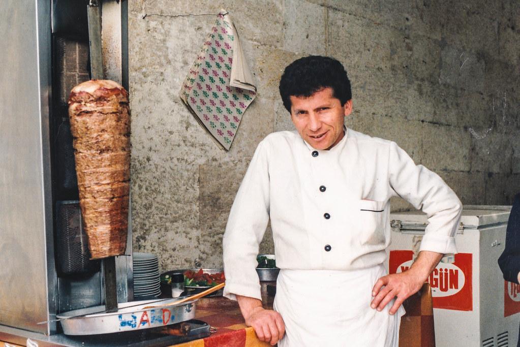 Nice fresh Doner kebab
