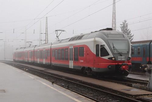 MÁV Stadler 'FLIRT' EMU 5341 049-5 at Budapest-Nyugati pályaudvar