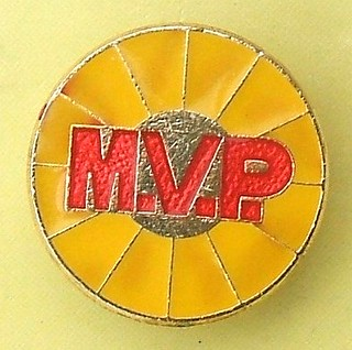 MVP - unidentified badge (1980's / 1990's)