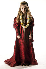 textile, gown, clothing, costume design, maroon, outerwear, costume,