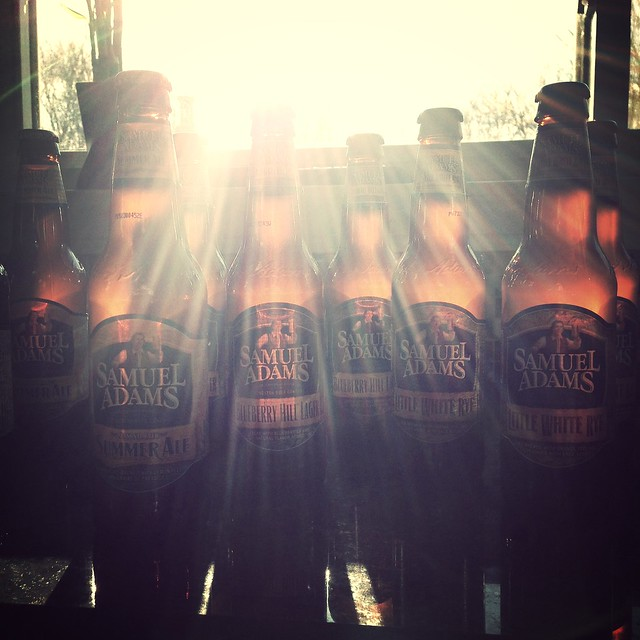 Summer is coming. @SamuelAdamsBeer promises!