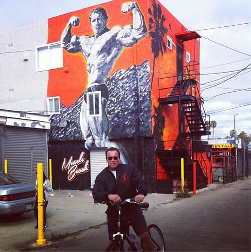 Arnold Schwarzenegger Venice Beach