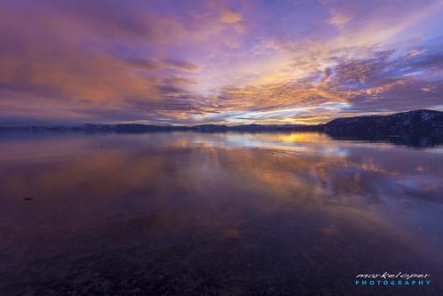 california sunset lake water clouds photography village nevada tahoe incline 2013 markeloper