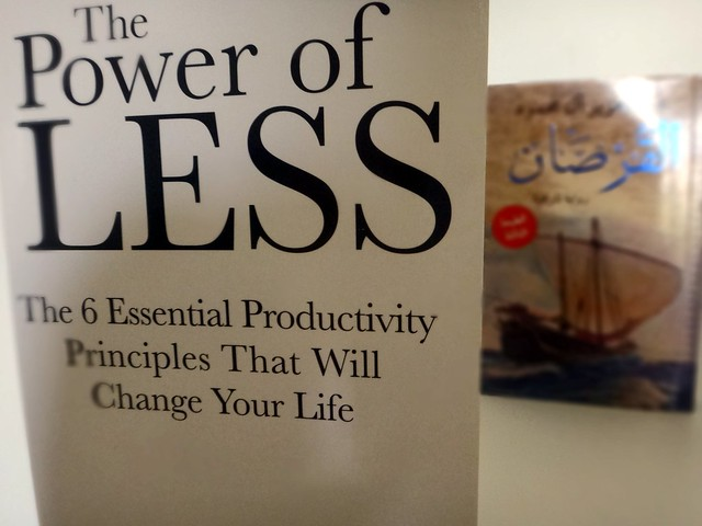 Productivity from Leo Babauta of Zen Habits: The Power of Less