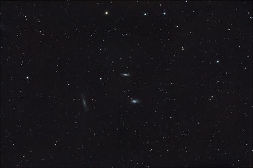 Triplete de Leo  M65, M66 y NGC 3628