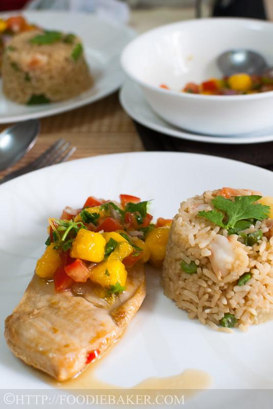 Mango Salsa Chicken