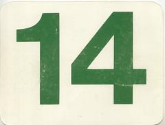 calendrier  14