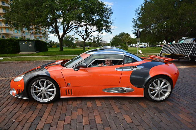 I got to drive a Spyker LM85 Today!