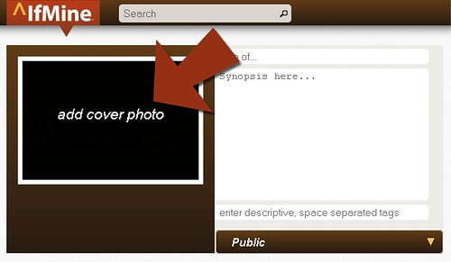 How to add cover photo to new project ^IfMine ifmine.com