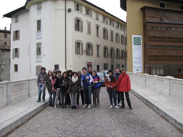 il gruppo #borgosmaria - occupazione del Ponte Forbato