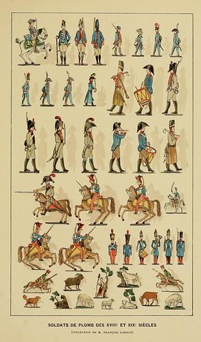 021-Soldados de plomo siglos XVIII y XIX-Histoire des jouets….1902- Henry René d' Allemagne
