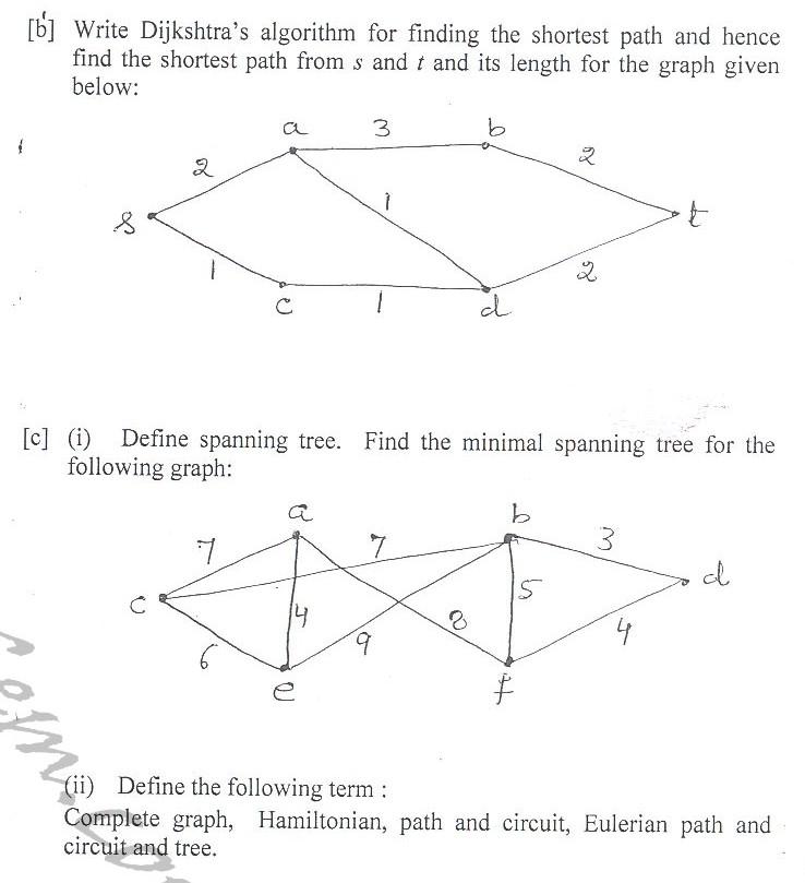DTU Question Papers 2010 – 2 Semester - End Sem - IT-115