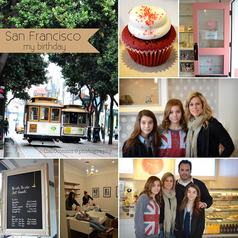 Birthday in San Fran collage