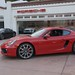NEW 2014 Porsche Cayman S 981 FIRST PICS in Beverly Hills 90210 Guards Red 1202