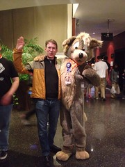 furry convention in my hotel while on a business trip