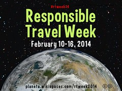 Mark your calendar! Everyone's invited to Responsible Travel Week 2014, February 10-16 #rtweek14