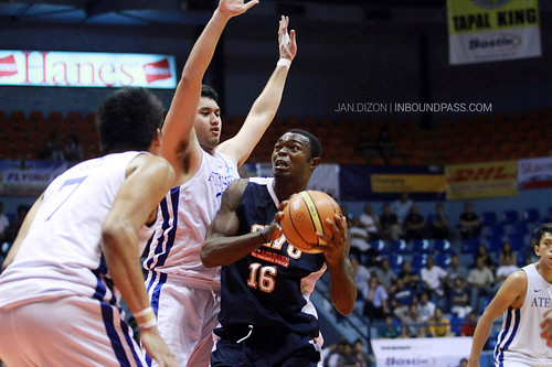 2013 FilOil Flying V Preseason: Ateneo Blue Eagles vs. SWU Cobras, April 13