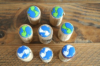 Corks and Earth Pins