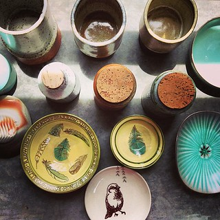 Unpacking beautiful ceramics feels like Christmas.