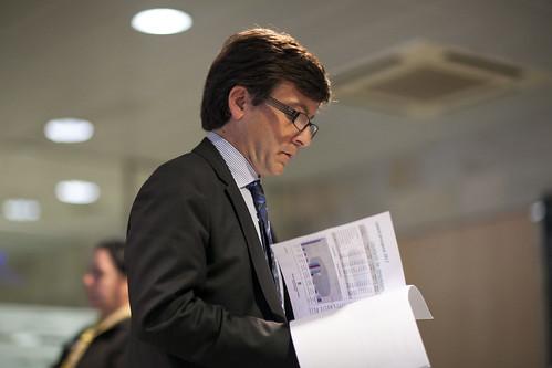 Roda de premsa.Presentació execució pressupostària del 2012.15-04-2013