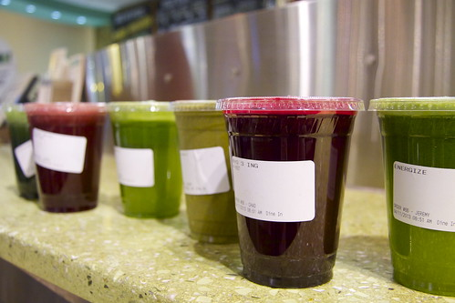 Wholefoods Juices and Smoothie Recipes and Austin Trip