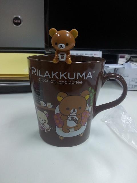 咖啡拉拉熊馬克杯
