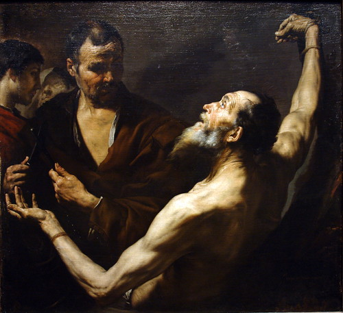 The Martyrdom of Saint Bartholomew, 1634