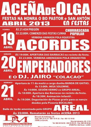 Lugo 2013 - Festas do Bo Pastor en Aceña de Olga