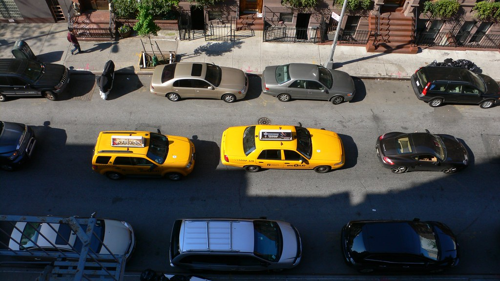 Taxis from above