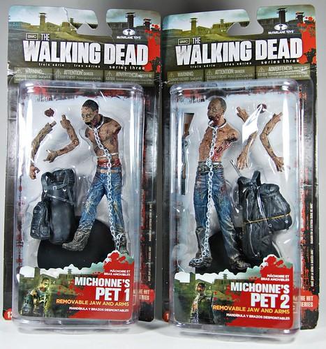 The Walking Dead Series 3: Michonne's pet zombies